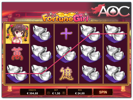 Microgaming Fortune Girl slot