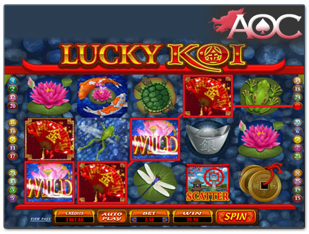 Microgaming Lucky Koi online slot