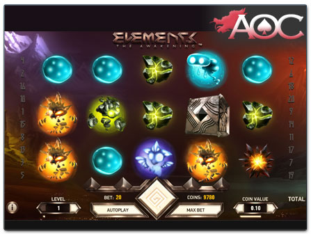 NetEnt Elements online slot