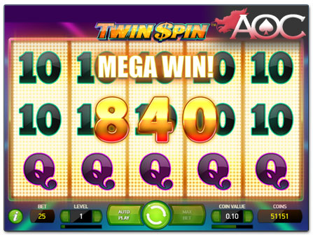 NetEnt Twin Spin online slot