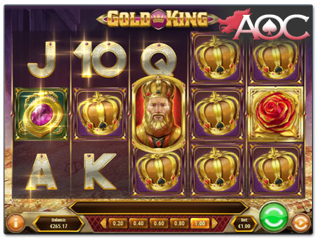 Play'n GO Gold King slot