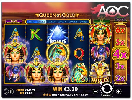 Pragmatic Play Queen of Gold